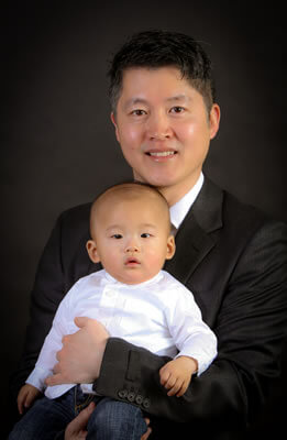 Dr. Han with Baby